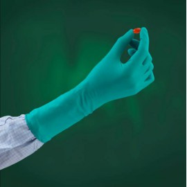 Rękawice nitrylowe TouchNTuff® 93-700 o podwyższonej wytrzymałości (rozmiar M)