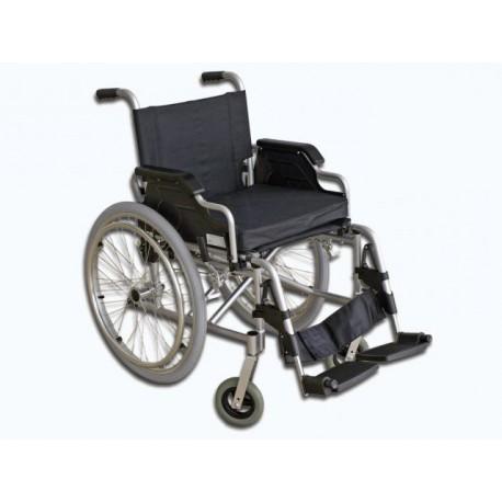 Wózek inwalidzki FS 908LJQ-41 z hamulcem pomocniczym (kolor niebieski metaliczny)