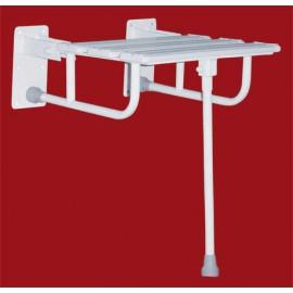 Krzesełko prysznicowe uchylne z nogą Corr