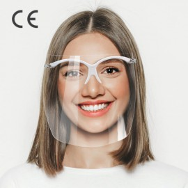 Przyłbica stomatologiczna - zestaw oprawki okularowe i folia (5 szt.) COVID-19