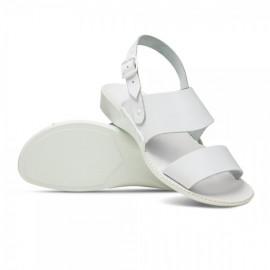 Obuwie medyczne damskie 01A (sandały, białe)