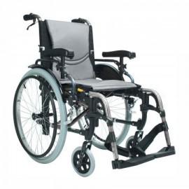 Wózek inwalidzki S Ergo Silver 115, szerokość siedziska: 43 cm