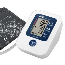 Ciśnieniomierz elektroniczny AND UA-651 za zasilaczem