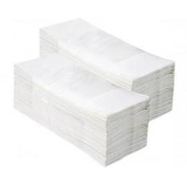 Ręcznik papierowy (200 sztuk, składanka, super biały)
