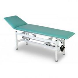 Leżanka- stół do rehabilitacji i masażu - JSR-E z elektryczną regulacją wysokości za pomoca pilota ręcznego