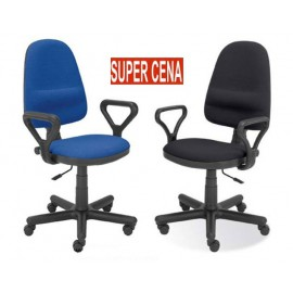 Krzesło lekarskie, biurowe (stelaż czarny)