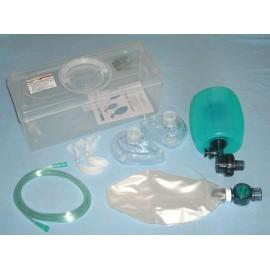 Ambu dla dorosłych, silikonowe, do sterylizacji SR-001 (w walizce) nr kat.13065