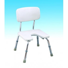 Krzesło toaletowe pod prysznic z wycięciem w siedzisku CA 352L