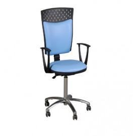Krzesło biurowe STAŚ (stelaż chromowany) TP