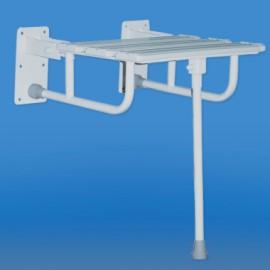 Krzesło prysznicowe uchylne z nogą KPU-2