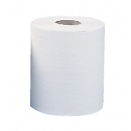 Ręcznik papierowy w roli biały 2 warstowy 55 m