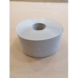 Papier toaletowy 1 warstwowy, szary, makulaturowy Jumbo  (śr.19 cm)