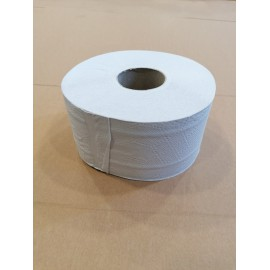 Papier toaletowy 2 warstwowy biały celulozowy Jumbo (śr. 19 cm)