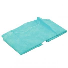 Fartuch jednorazowy włókninowy, zielony (rękaw długi)