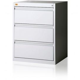 Szafa kartotekowa 3-szufladowa, 1-rzędowa, format B5 KOP/3