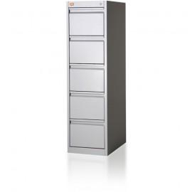 Szafa kartotekowa 5-szufladowa, 1-rzędowa, format B5 KOP/5/1