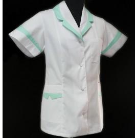 Żakiet lekarski damski Korona (rękaw krótki lub długi)