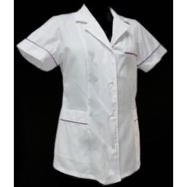 Żakiet lekarski damski Kalina (rękaw krótki lub długi)
