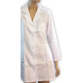 Fartuch lekarski damski Student (rękaw długi) WYPRAWKA DLA ŻAKA
