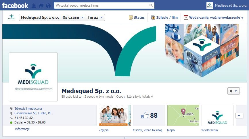 MEDISQUAD na Facebooku